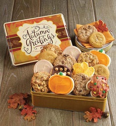 Autumn Gift Tin - Fall Assortment