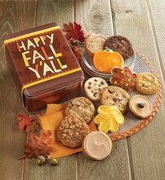 Create Your Own - Happy Fall Y'all Fall Gift Tin