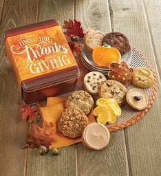 Create Your Own - Let Our Lives Be Full of Thanks Fall Gift Tin