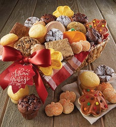Autumn Greetings Bakery Basket