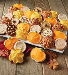 Buttercream Frosted Fall Premier Cookie Assortment