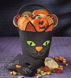 Cat Pail & Mask Set