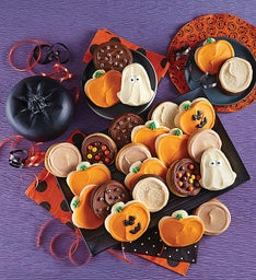 Premium Buttercream Frosted Halloween Cookies