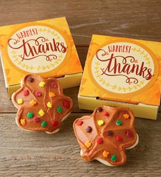 Warmest Thanks Cookie Card