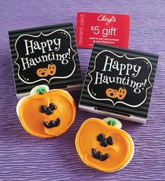 Jack O' Lantern Cookie Card