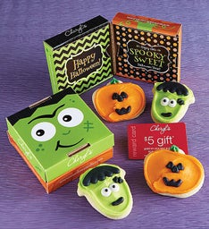 Frankenstein and Jack O' Lantern 2 Pack Cookie Card