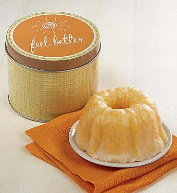 Feel Better Mini Lemon Cake and Gift Tin