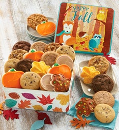 Autumn Greetings Gift Tin-Fall Assortment