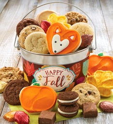 Happy Fall Treats Pail