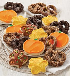 Fall Cookie and Pretzel Gift