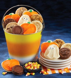 Halloween Treats Candy Corn Pail