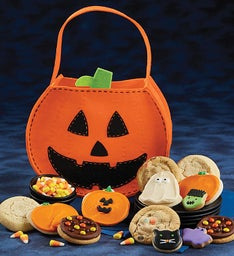 Jack O Lantern Trick or Treat Tote