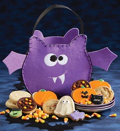 Bat Trick or Treat Tote