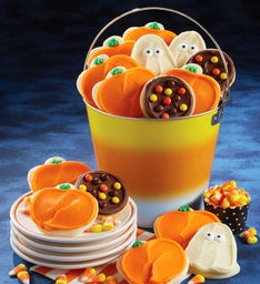Candy Corn Treats Pail
