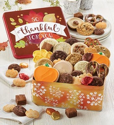 So Thankful for You Gift Tin Treats Assortment