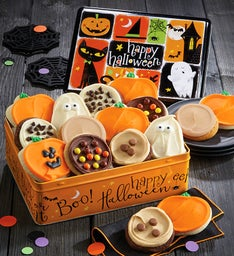 halloween gift tin frosted assortment