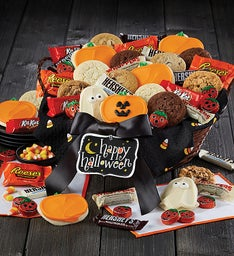 the ultimate halloween treats basket snipeimage