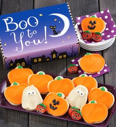 Boo To You Halloween Treats Box