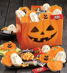 Jack O Lantern Cookie and Candy Box