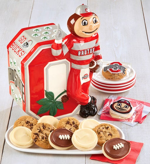 The Ohio State University Brutus Buckeye Cookie Jar