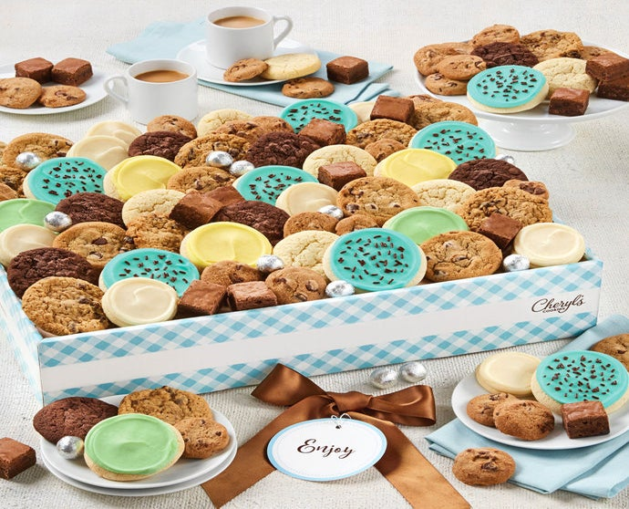 Cheryl's Dessert Tray Gift Box with Message tag - Large