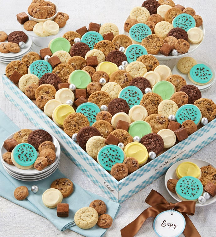 Cheryls Dessert Tray Gift Box with Message tag - Grand