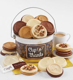 Cup o39 Thanks Cookie Pail