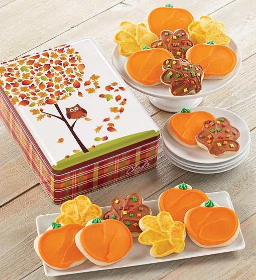 Buttercream Frosted Fall Gift Tin