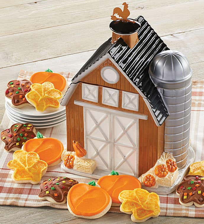 Collectors Edition Barn Cookie Jar