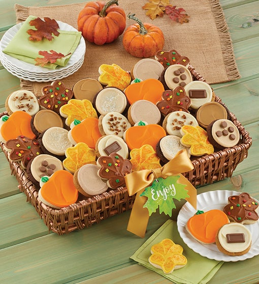 Fall Buttercream Cookie Gift Basket - Large
