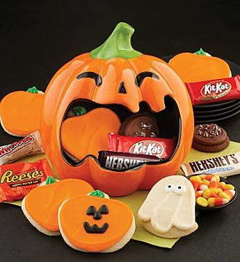 Collectors Edition Jack O Lantern Candy Dish