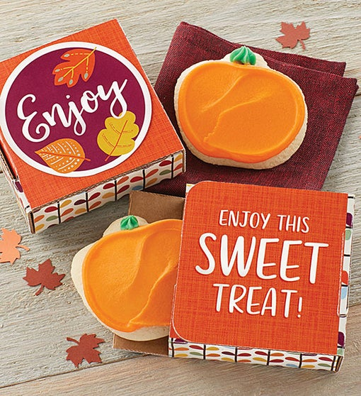 Enjoy Fall Cookie Card