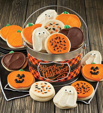 Happy Halloween Cookie Pail