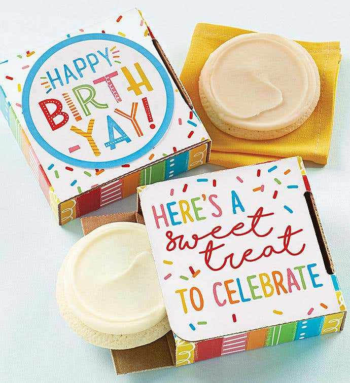 Sugar Free Happy Birth-Yay Cookie Card