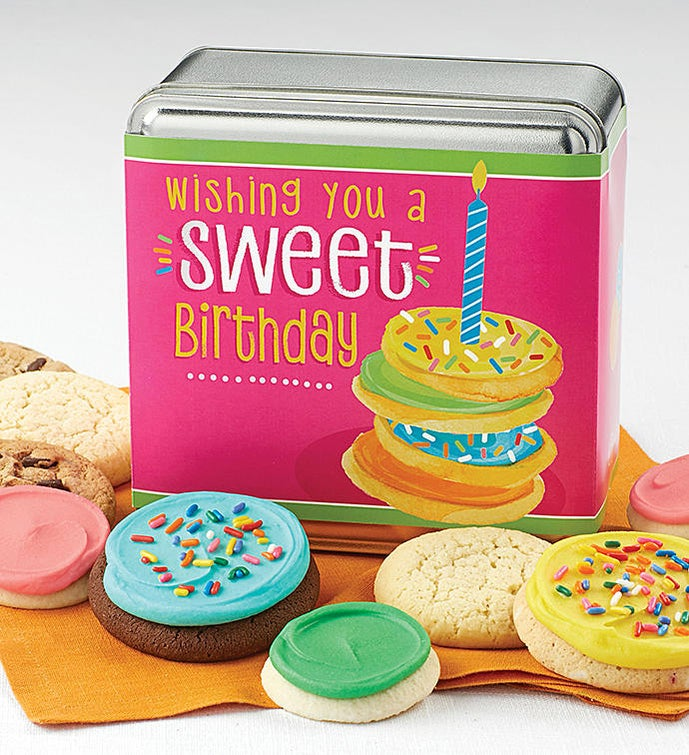 Wishing You a Sweet Birthday Gift Tin