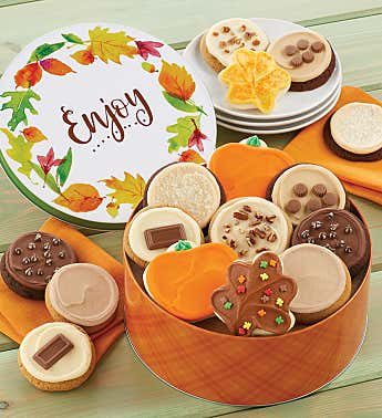 Fall Gift Tin – Frosted Assortment