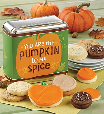 You Are The Pumpkin To My Spice Gift Tin