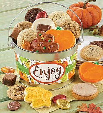 Fall Enjoy Treats Pail