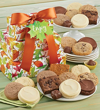 Sugar Free Fall Gift Tower