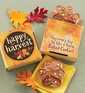 Happy Harvest Cookie Card