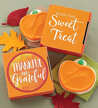 Thankful and Grateful Cookie Card