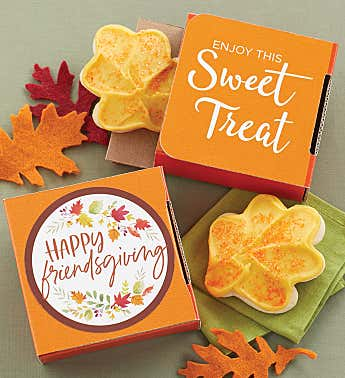 Happy Friendsgiving Cookie Card