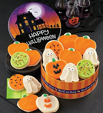 Happy Halloween Gift Tin - Cut-outs
