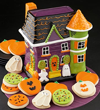 Collectors Edition Halloween Fun House Cookie Jar