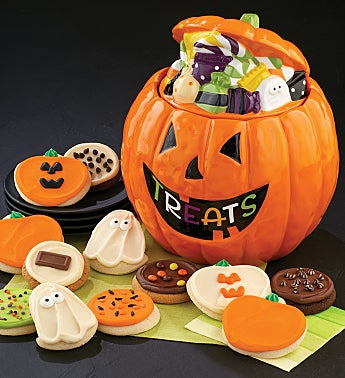 Collector's Edition Jack O' Lantern Cookie Jar