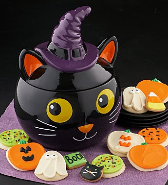Collector's Edition Cat Cookie Jar