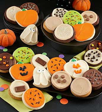 Premier Buttercream Frosted Halloween Cookies