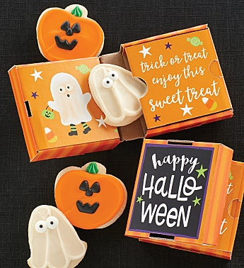 Happy Halloween 2 Pack Cookie Card