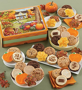 Fall Flavor Cookie Gift Box