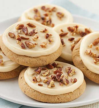 Buttercream Frosted Butter Pecan Cookie Sampler
